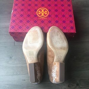 Tory Burch Shoes - Tory Burch | Brown Embroidered Floral Mules